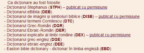 eBiblia Dictionare